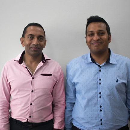 Dr Augustine and Dr Parikh